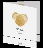 Uitnodiging 40 Jaar Getrouwd Maken