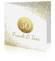 50 Jaar Getrouwd Kaarten Maken Vijftig