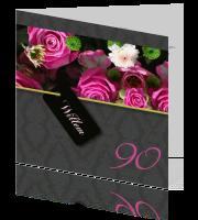 90 Jaar Uitnodigingskaarten Maken Negentig Jaar
