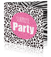 Uitnodiging Verrassingsfeest Suprise Party