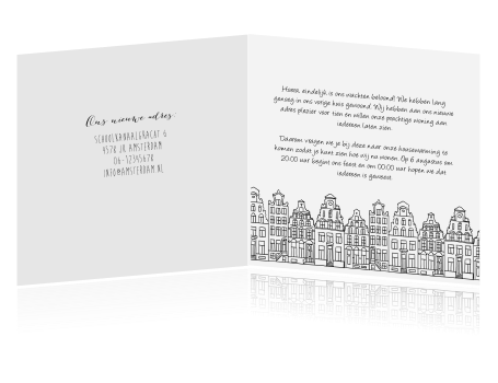 c07e60834eeede Uitzonderlijk Verhuiskaart stad amsterdam amsterdamse grachtenpanden SX48