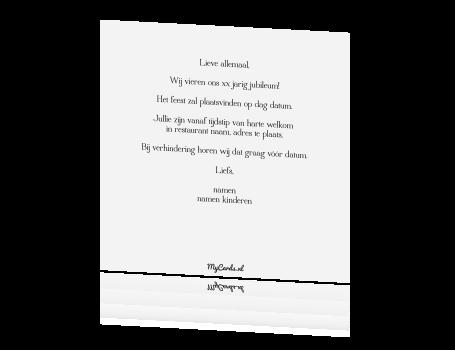 leuke tekst uitnodiging 40 jaar Tekst Kaart 40 Jaar Getrouwd   ARCHIDEV leuke tekst uitnodiging 40 jaar