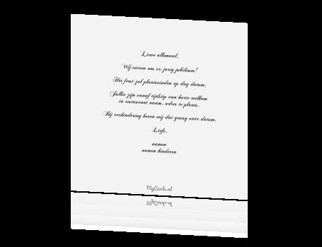 teksten voor 50 jarig huwelijksfeest Kaart 50 Jaar Getrouwd Tekst   ARCHIDEV teksten voor 50 jarig huwelijksfeest