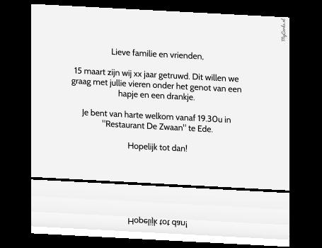 tekst uitnodiging 60 jarig huwelijk Voorbeeld Uitnodiging 60 Jarig Huwelijk   ARCHIDEV tekst uitnodiging 60 jarig huwelijk