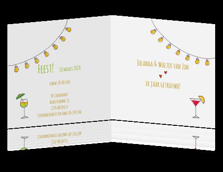 65 jarig huwelijksjubileum Huwelijksjubileum 65 jaar cocktails lampen 65 jarig huwelijksjubileum