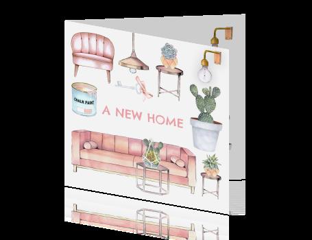 Verhuiskaart nieuwe woning hippe meubels for Woning meubels