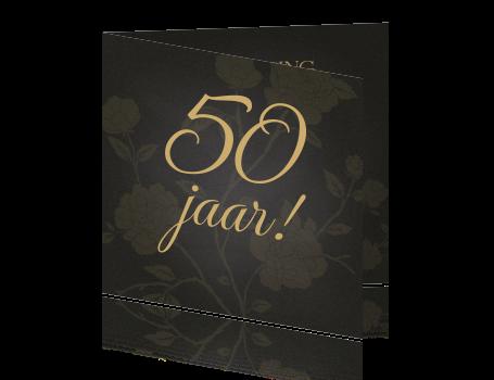 Bedwelming Klassieke krijtbord uitnodiging sarah 50 jaar dame verjaardag @WF93