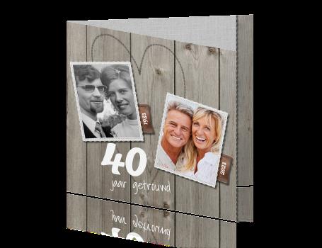 kaarten 40 jarig huwelijksfeest 40 jaar getrouwd huwelijks kaarten maken   veertig kaarten 40 jarig huwelijksfeest