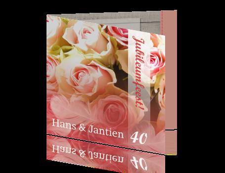 40 Jaar Getrouwd Uitnodiging Maken