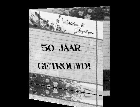 Jubileum 50 Jaar Getrouwd