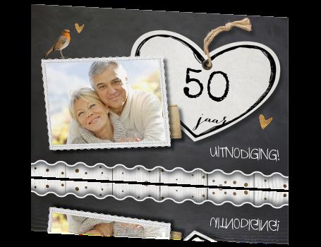 uitnodiging maken 50 jarig huwelijksfeest 50 Jaar Huwelijk Kaart   ARCHIDEV uitnodiging maken 50 jarig huwelijksfeest