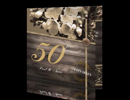 Uitnodiging Maken Voor 50 Jaar Getrouwd