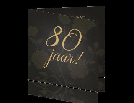 Uitnodiging Verjaardag Vrouw 80ste Jaar